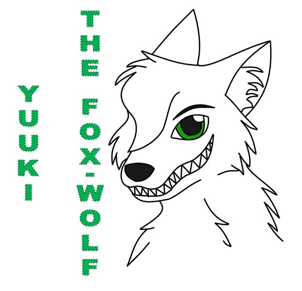 Archivo:Yuuki the fox wolf badge by lady kyuubi-d3ibxss.jpg