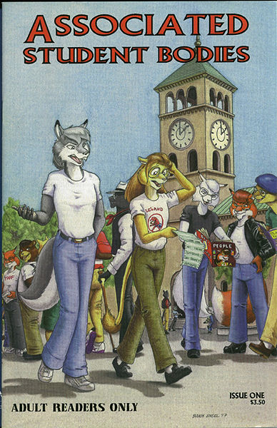 Adult furry comic